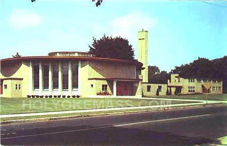 BLESSED SACRAMENT CHURCH, Holyoke Mass